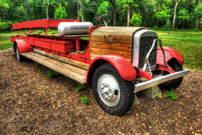 Photograph An Old Fire Truck by Alper Hayreter on 500px