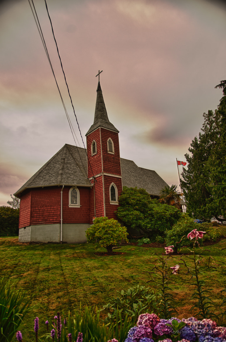 Photograph St. Columba Church, Tofino, BC by Chris Robison on 500px