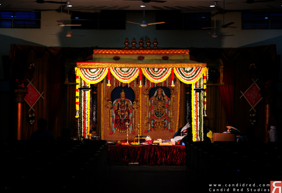 Indian Hindu Wedding Stage by Candid Red Studios on 500px.com
