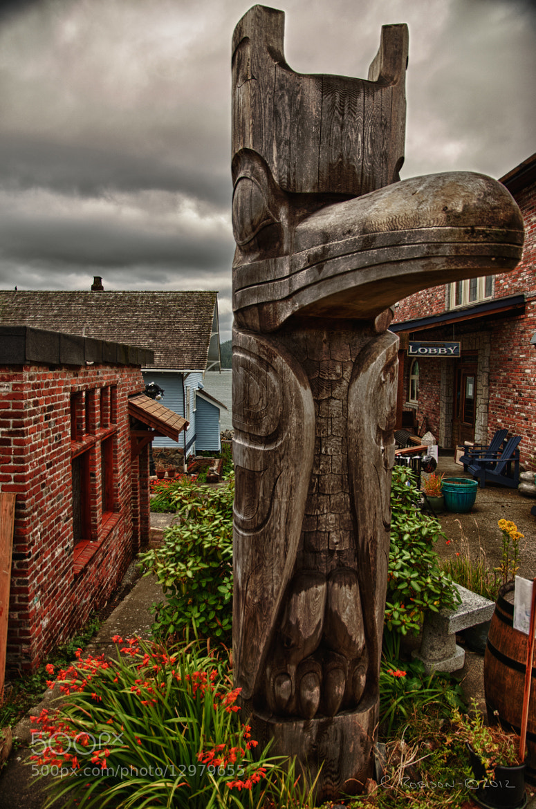 Photograph Tofino Totem by Chris Robison on 500px