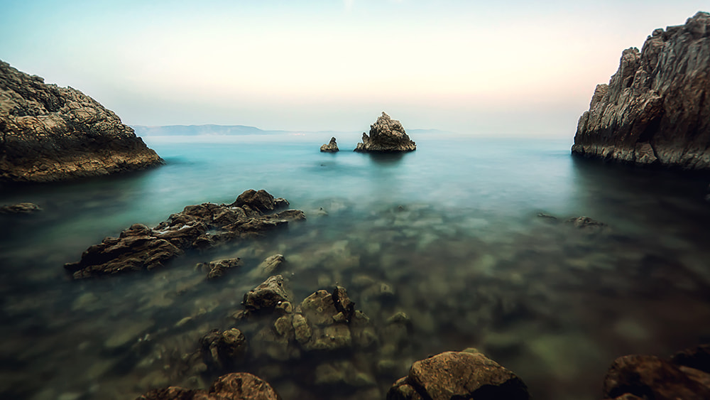 Photograph Foggy Beach by Markus Reugels on 500px