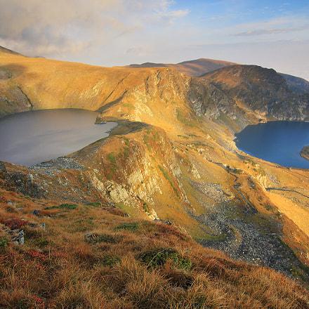 Rila lakes - the Eye and the Kidney - Rila mountain, Bulgaria
