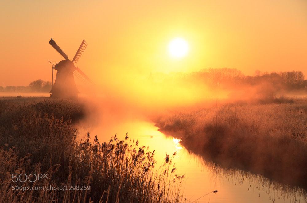 Photograph Dutch sunrise by Sander van der Werf on 500px