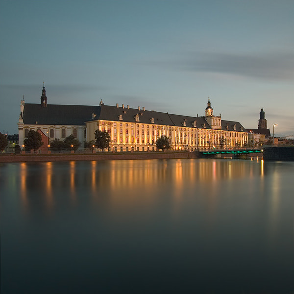 Photograph University of Wroclaw by Adam Korgul on 500px