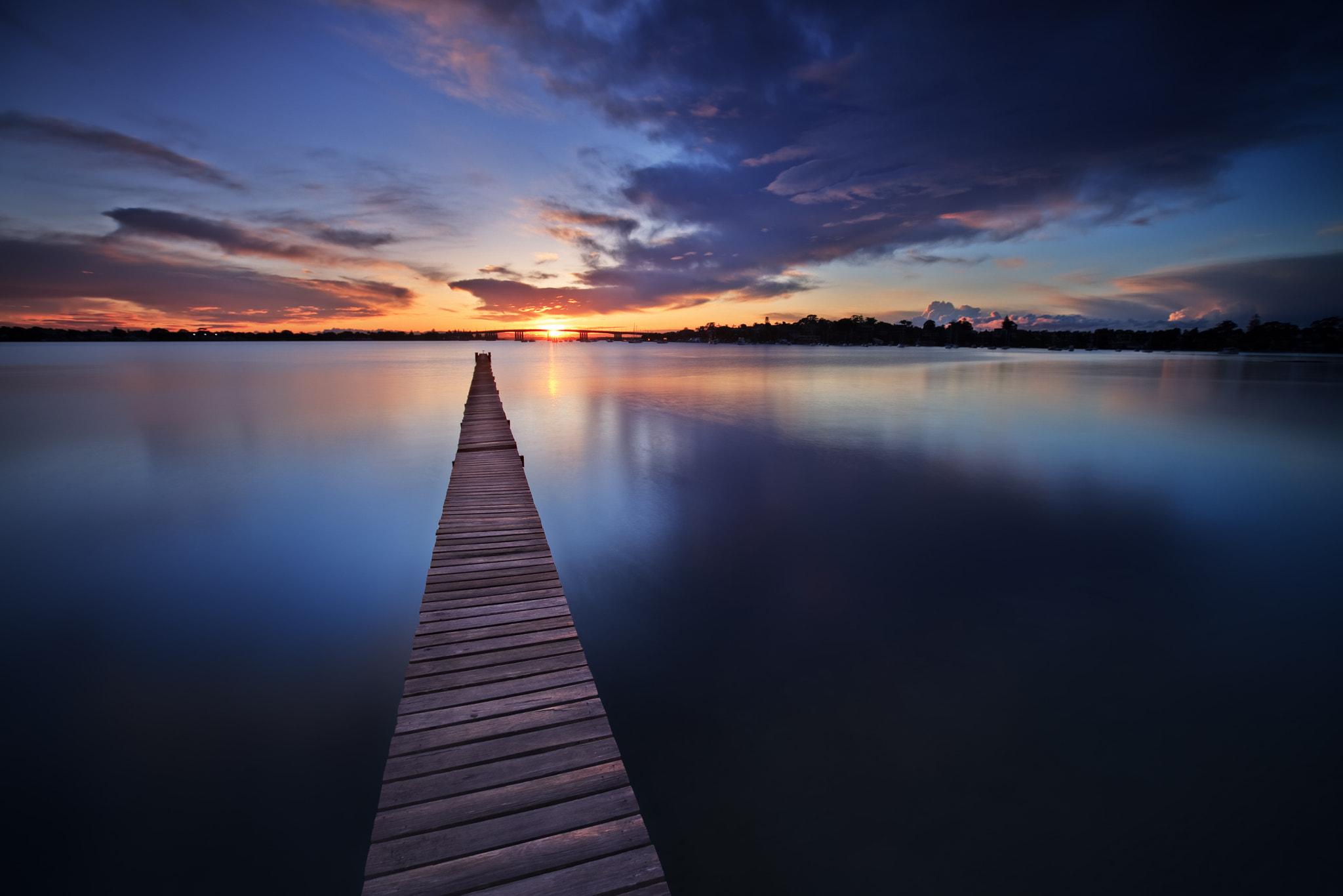 Photograph Sunrise over Holt's Point Jetty by Xenedis  on 500px