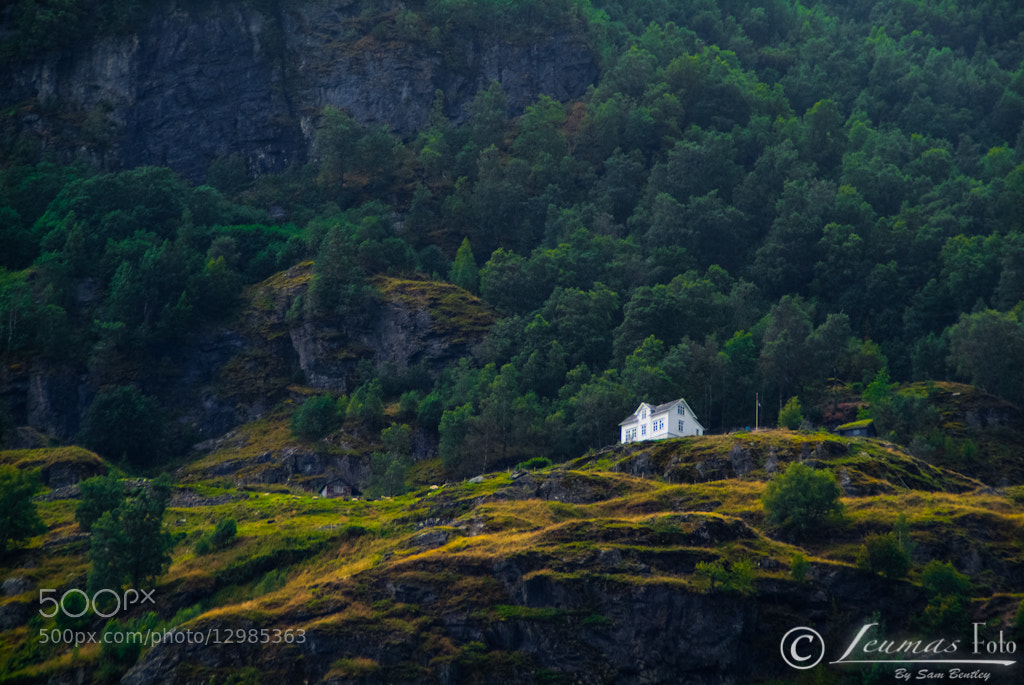 Photograph House on a hill, Norway by Sam Bentley on 500px