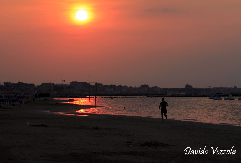 Photograph runner in the sunset by www.davidevezzola.it Davide Vezzola  on 500px