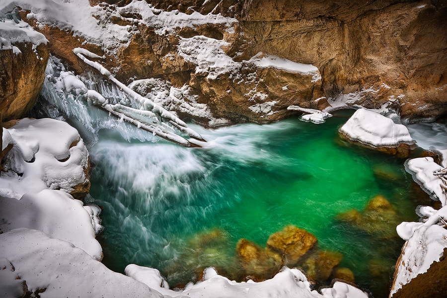 Photograph Partnachklamm by Michael  Breitung on 500px