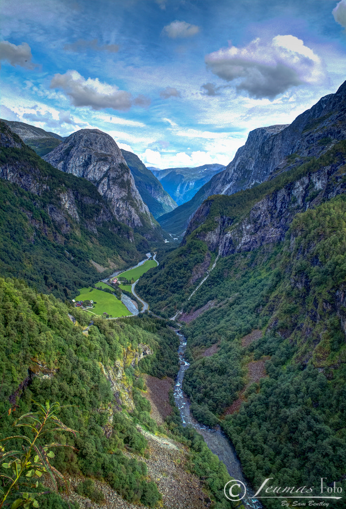 Photograph Flam landscape, Norway by Sam Bentley on 500px
