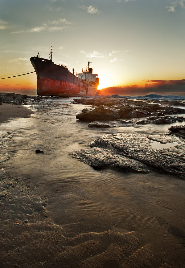 Photograph Shipwreck by David Clark on 500px