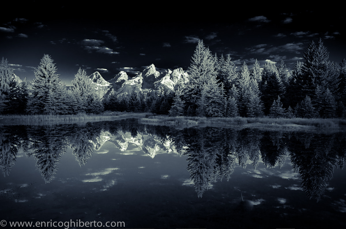 Photograph Grand Teton infrared by Enrico Ghiberto on 500px