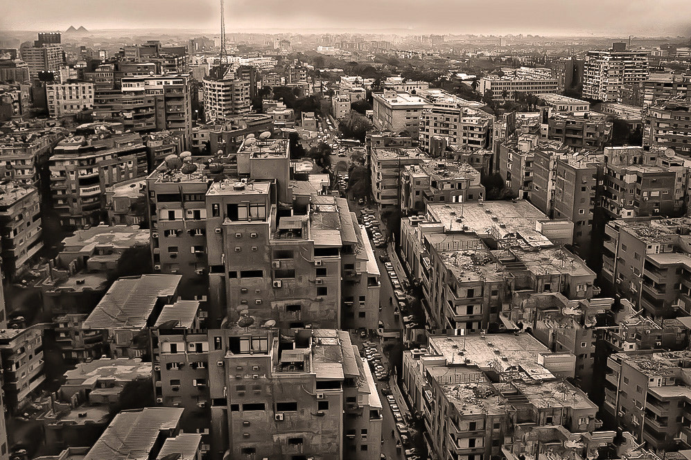 Photograph Cairo, notice the pyramids by Hamid alroshoud on 500px