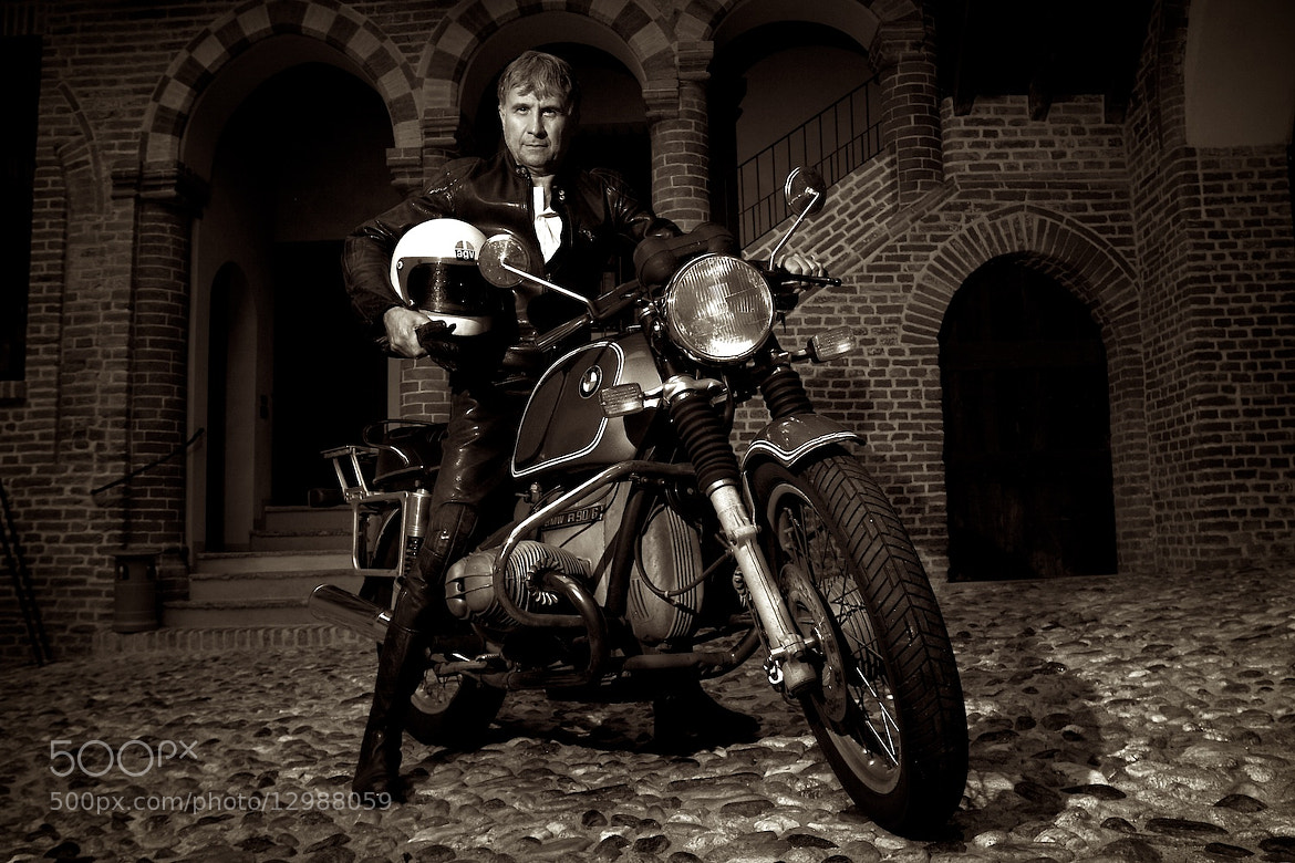 Photograph Bmw Rider by Edoardo Melchiori on 500px