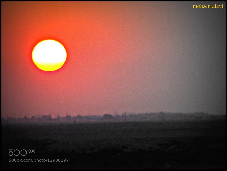 Photograph melting sun by mohsen alavi on 500px