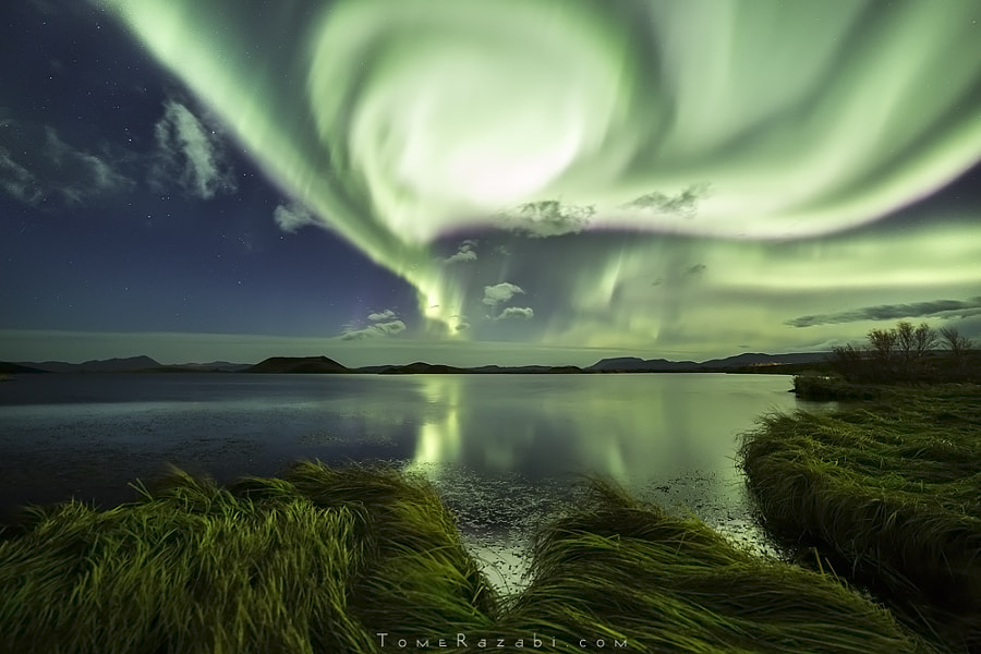 Aurora Explosion by Tomer Razabi on 500px.com