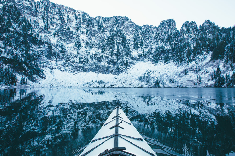 Paddling Into Winter by Dylan Furst on 500px.com