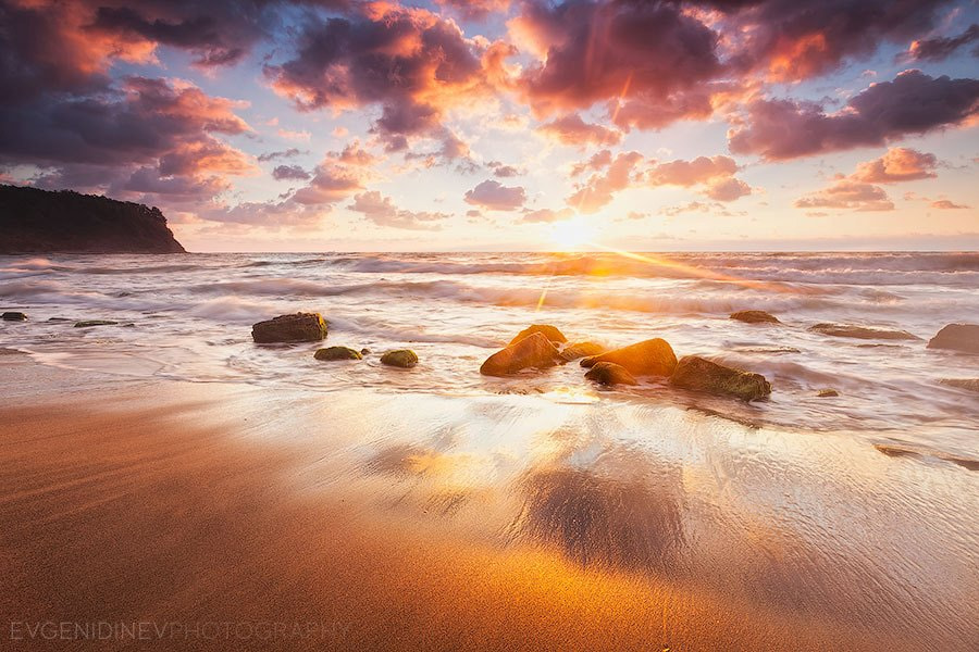 Photograph Golden Beach by Evgeni Dinev on 500px