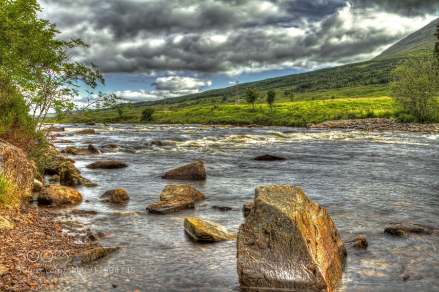 Photograph River Orchy Glencoe by Dave Murray on 500px