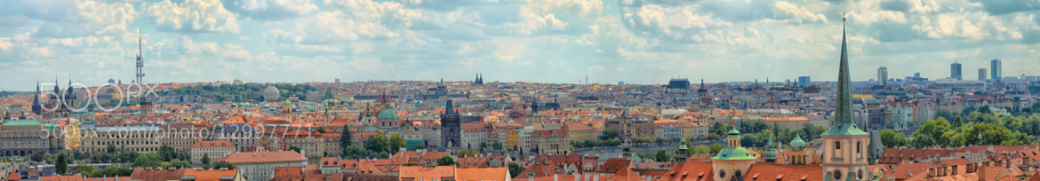 Photograph prague panorama by Stefan Megerle on 500px