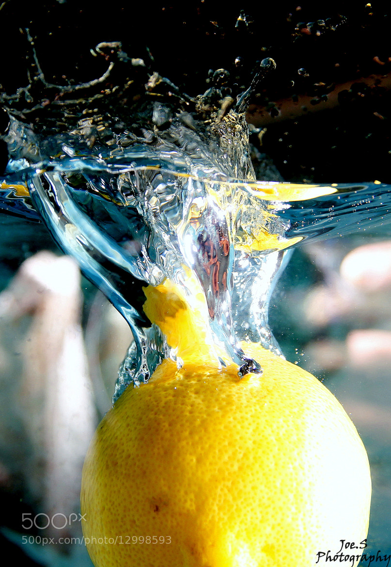 Photograph The Lemon Splash by Joe Siow on 500px