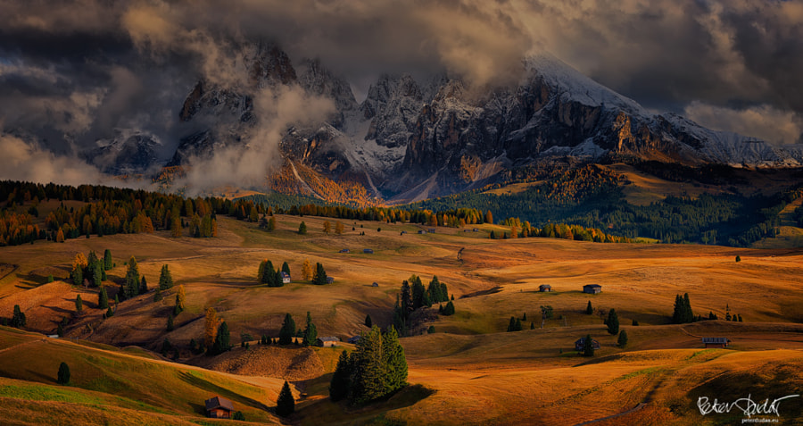 Drama at Alpe di Siusi by Peter Dudas on 500px.com