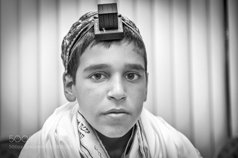 Photograph Boy with Tefillin by Juan Davila on 500px