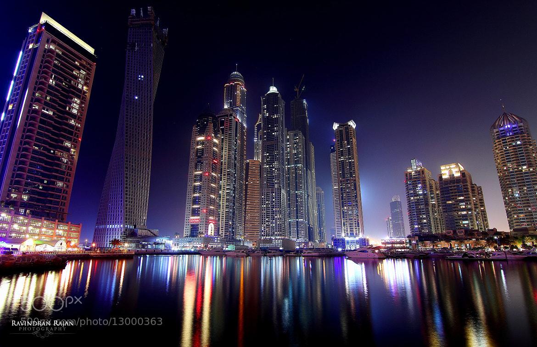 Photograph Dubai Marina by Ravindran Rajan on 500px