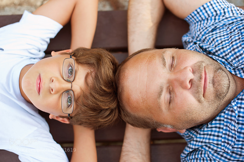 Father and son by Karina  Manams (manams) on 500px.com