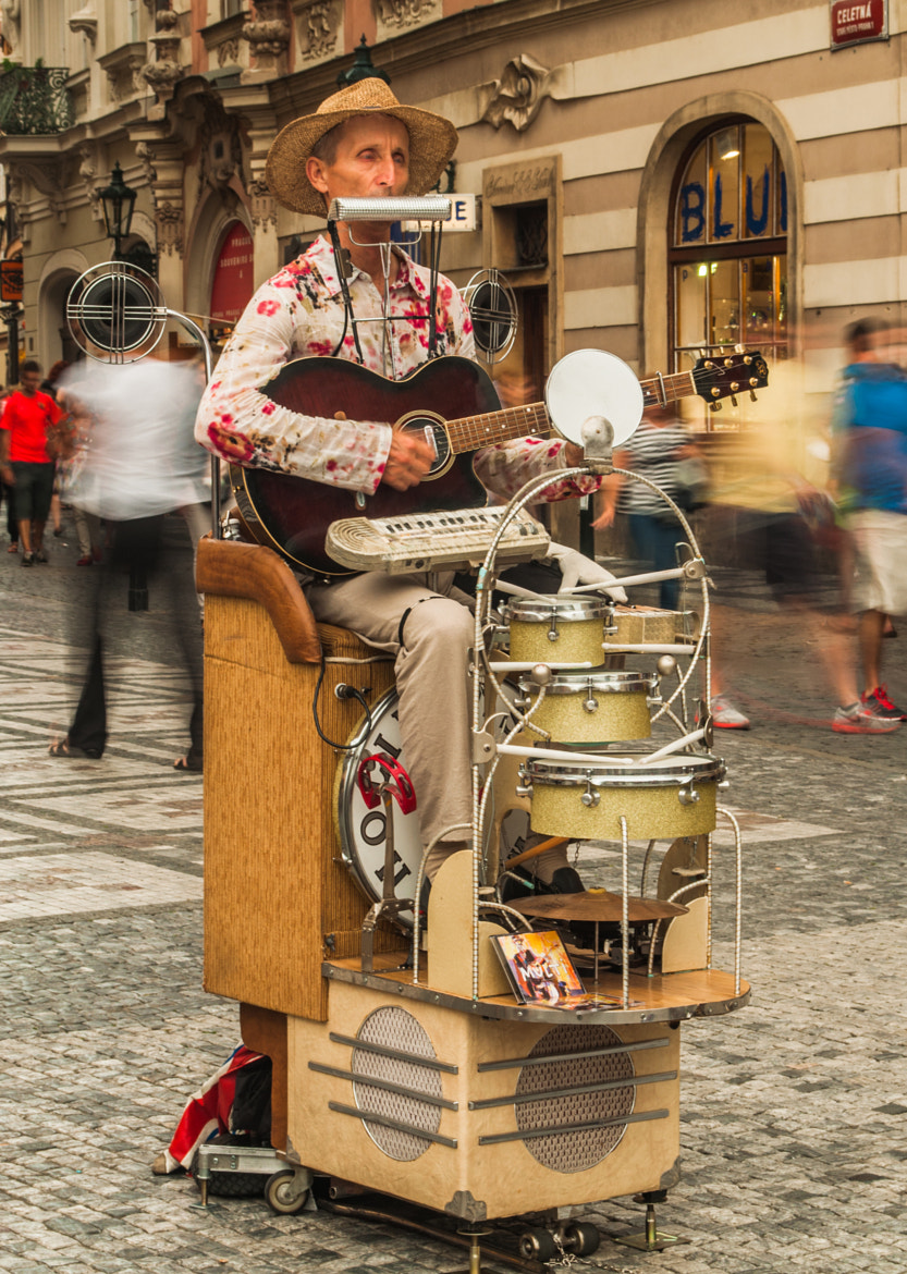 Photograph Street Performer by Zeyad Elsamadouny on 500px