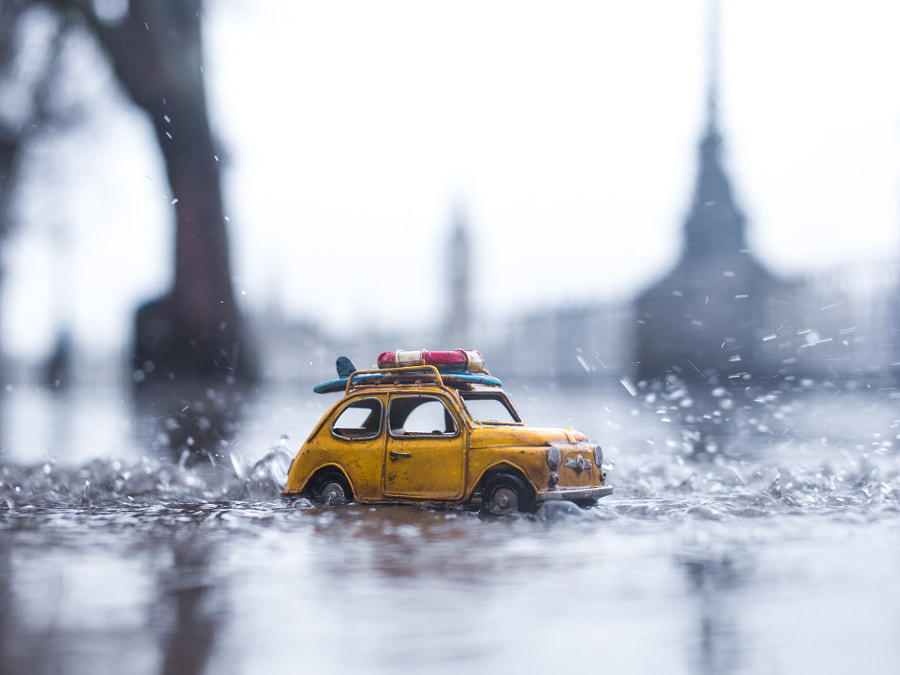 Riding The Ever So Wet City by Kim Leuenberger on 500px.com
