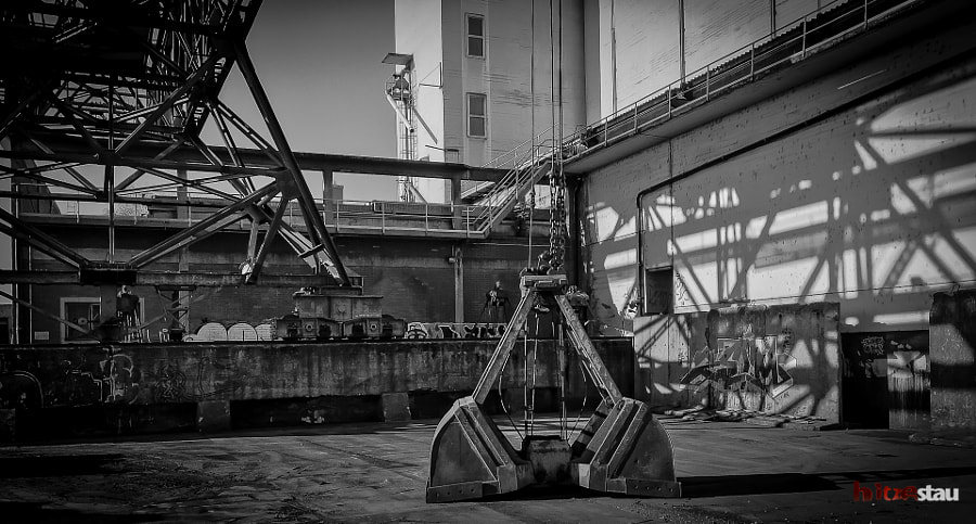 Industrial Backyard by hitzestau on 500px.com