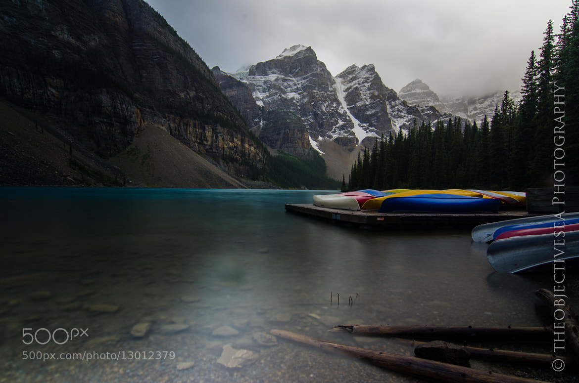 Photograph Canoes at Moraine by Kevin Smith on 500px