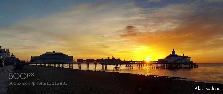 Photograph Sunrise by Akos Kadosa on 500px