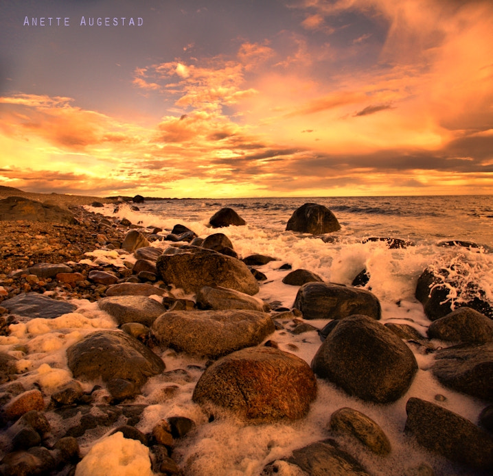 Photograph Fire In The Sky by Anette Augestad on 500px