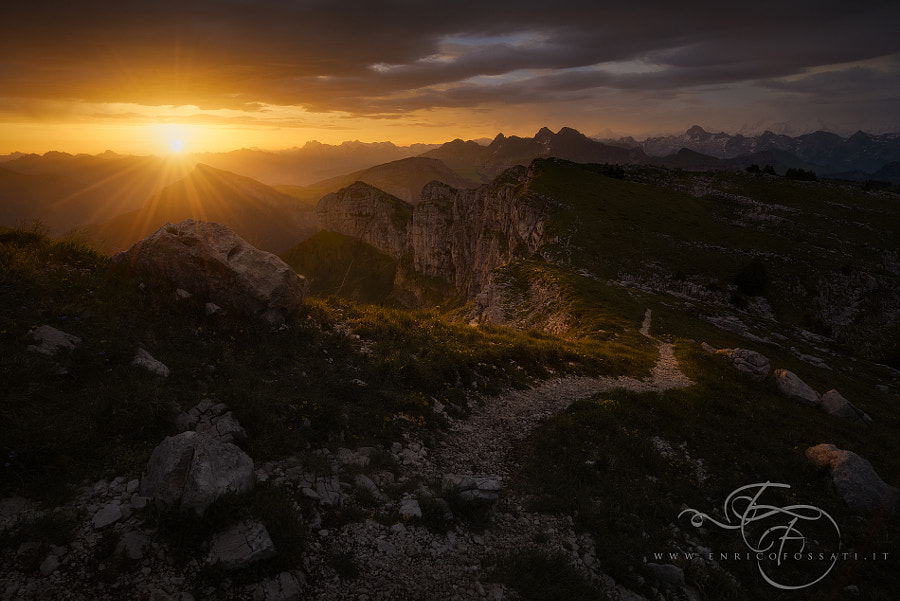The lost path of the Gods by Enrico Fossati