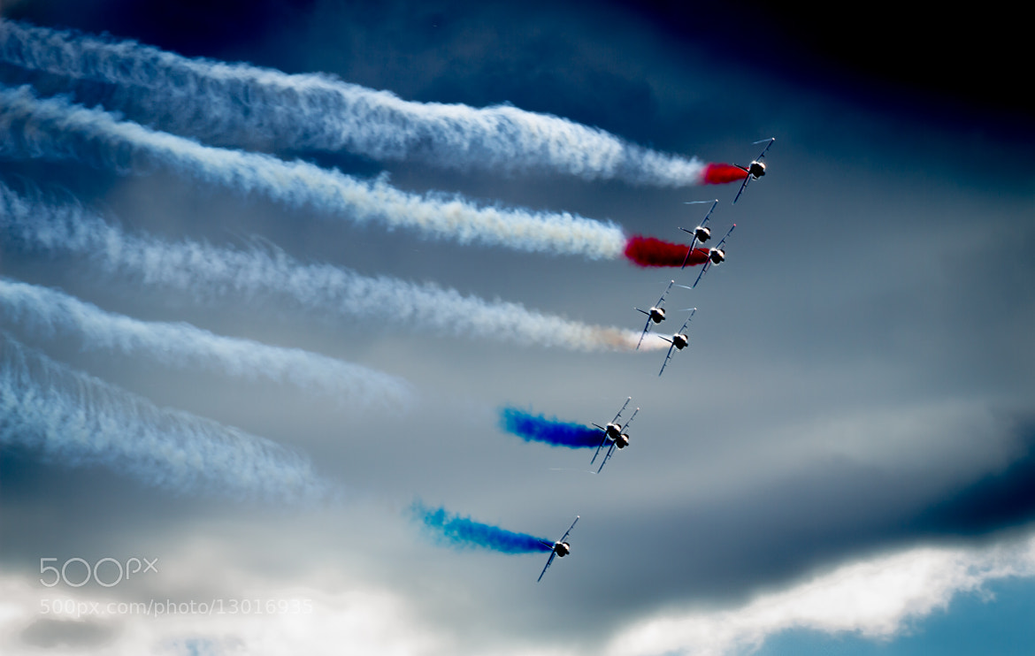 Photograph Patrouille de France by Peter Haukås Nejtek on 500px