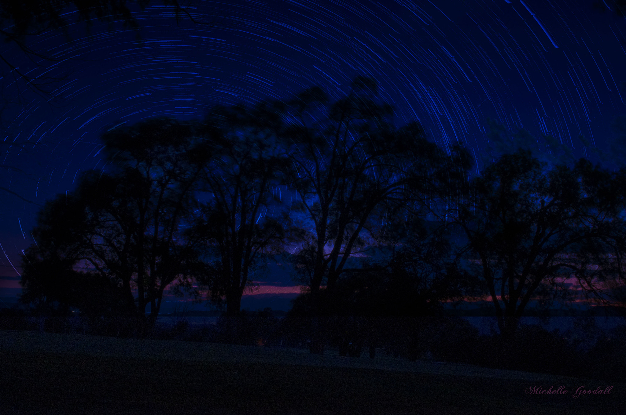 Photograph Star trails by Michelle Goodall on 500px