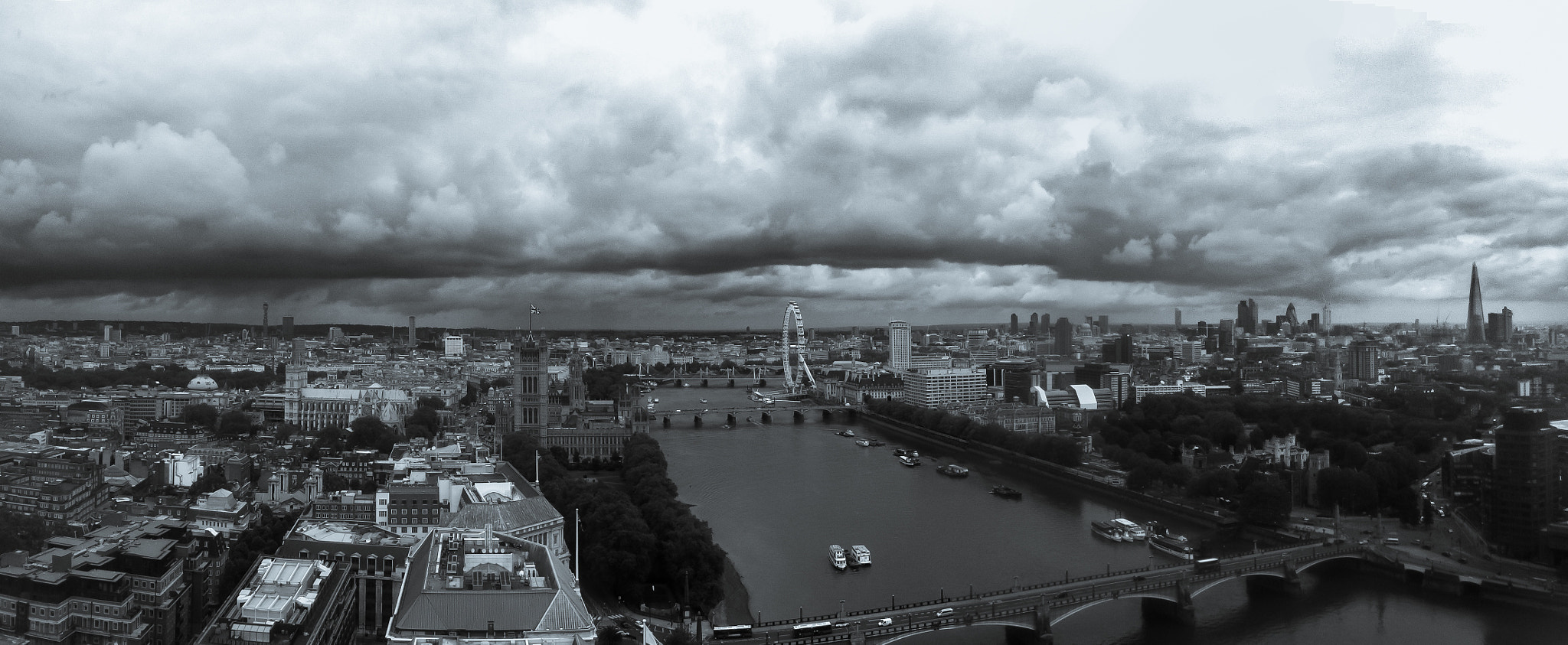 Photograph London Panorama by James Hall on 500px