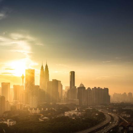 Kuala lumpur golden hours