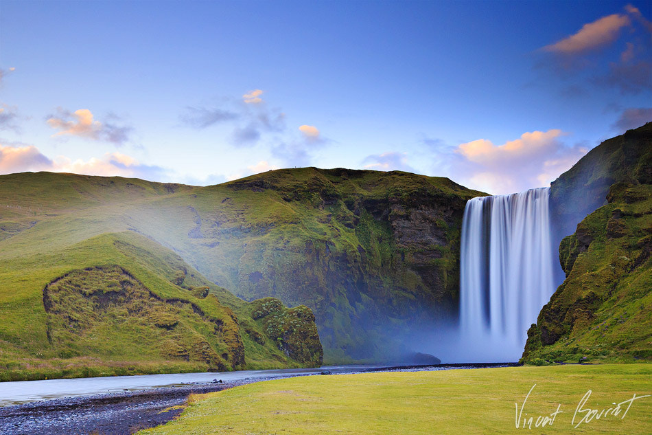 Photograph Skogafoss,Iceland by Vincent BOURRUT on 500px