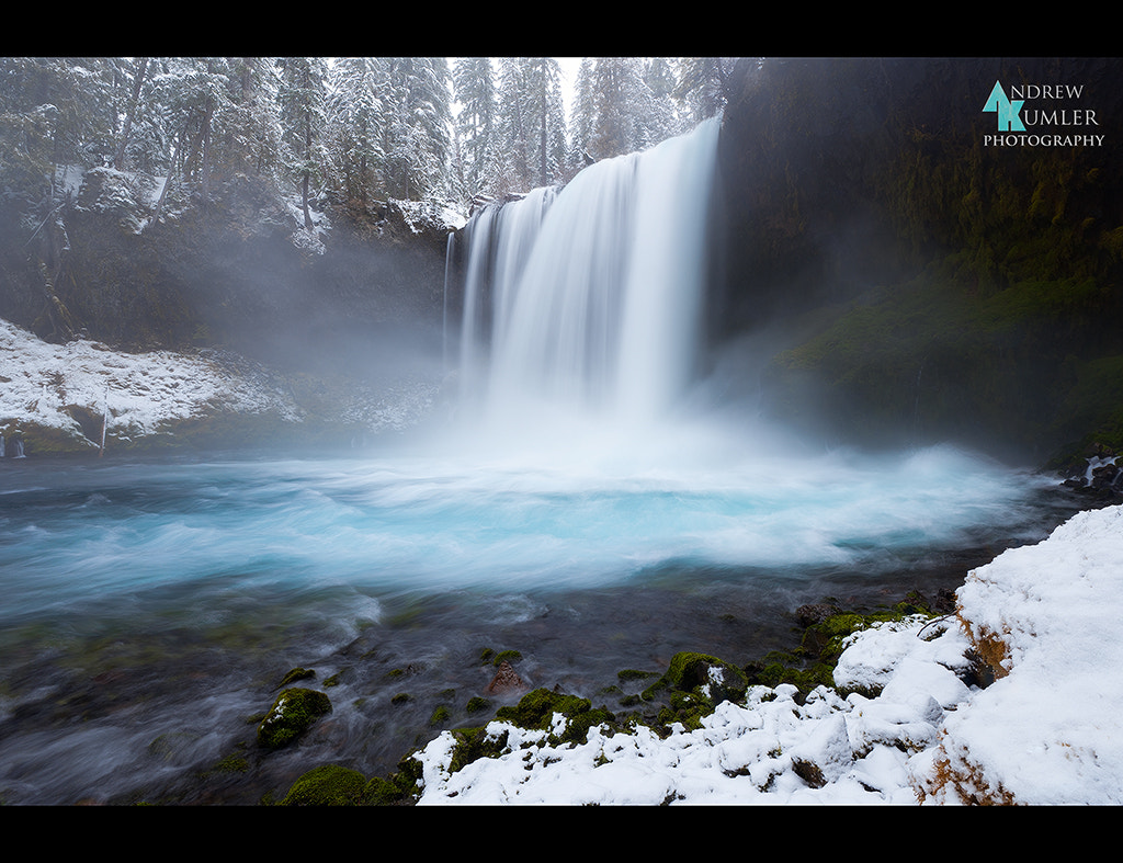 Photograph Koosah Falls in White... by Andrew Kumler on 500px