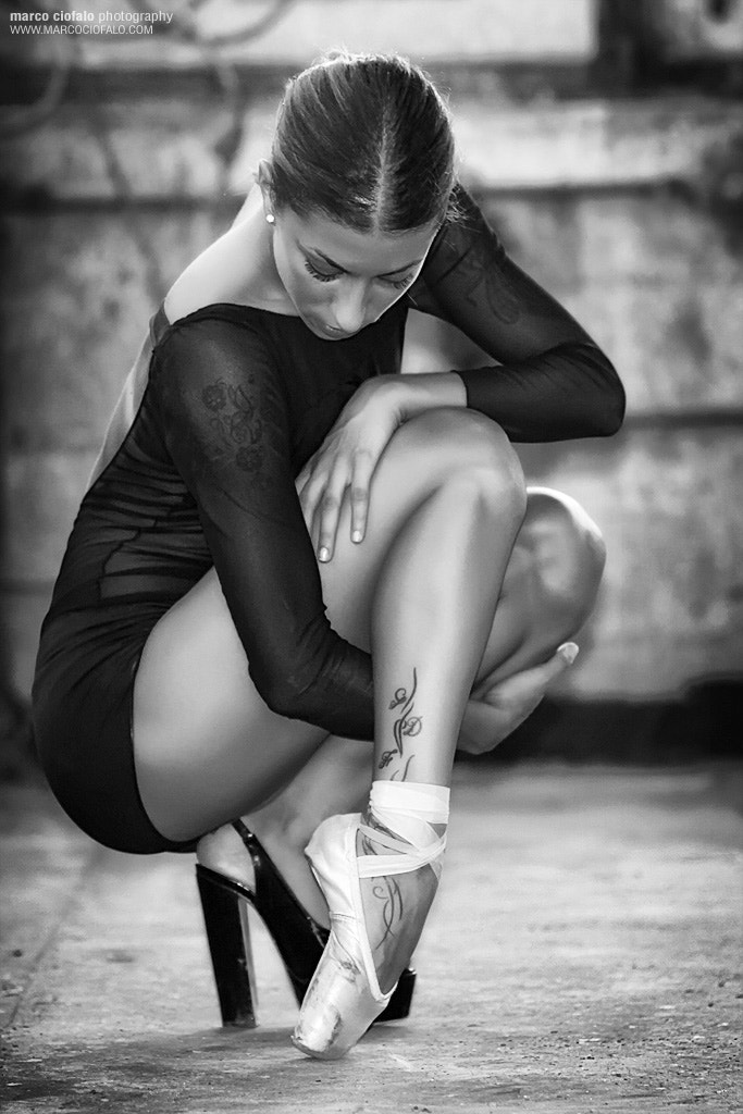 Photograph Ballet project 15 in BLACK AND WHITE - Maybe this is better.. by Marco Ciofalo Digispace on 500px