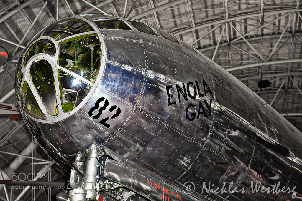 Photograph Enola Gay by Nicklas Westberg on 500px