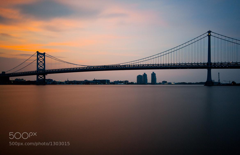 Photograph Ben Franklin Bridge, Philadelphia by Rich Williams on 500px