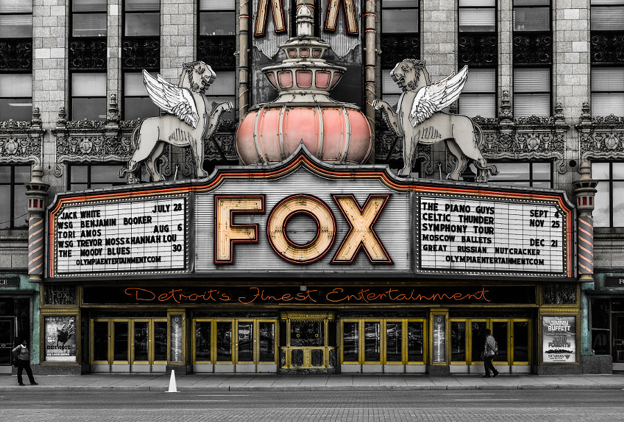Fox Theatre by Mike Fritcher on 500px.com