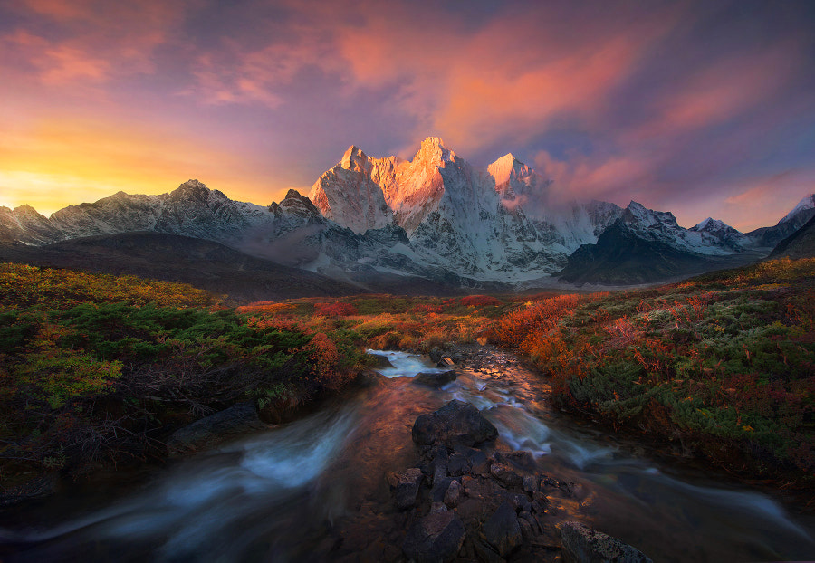 Himalaya Autumn by Marc  Adamus on 500px.com