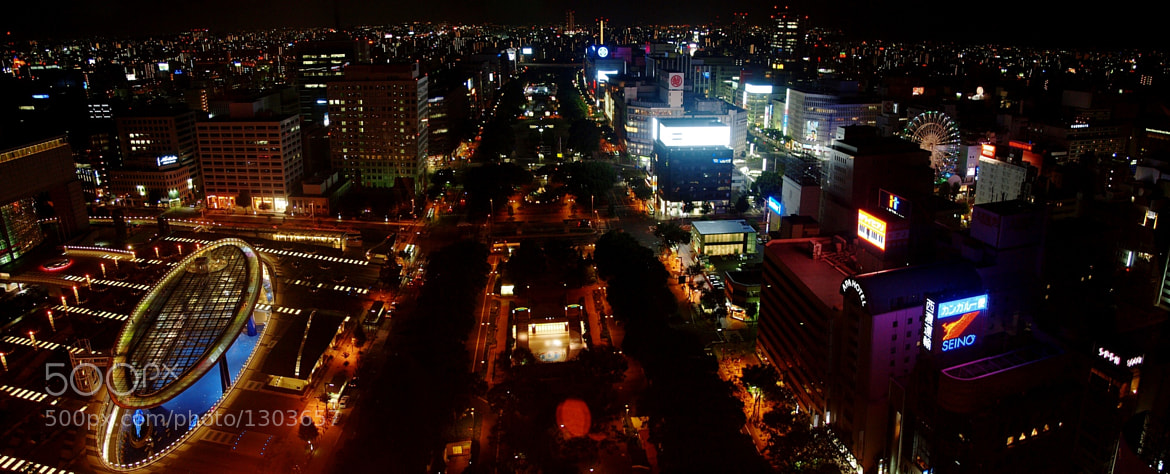 Photograph Nagoya Night Panorama by Christoph Rupprecht on 500px