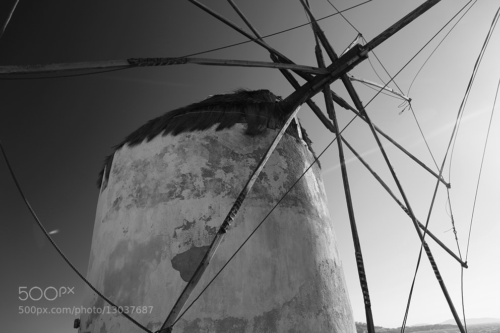 Photograph Windmill, Mykonos by Dieter Losken on 500px