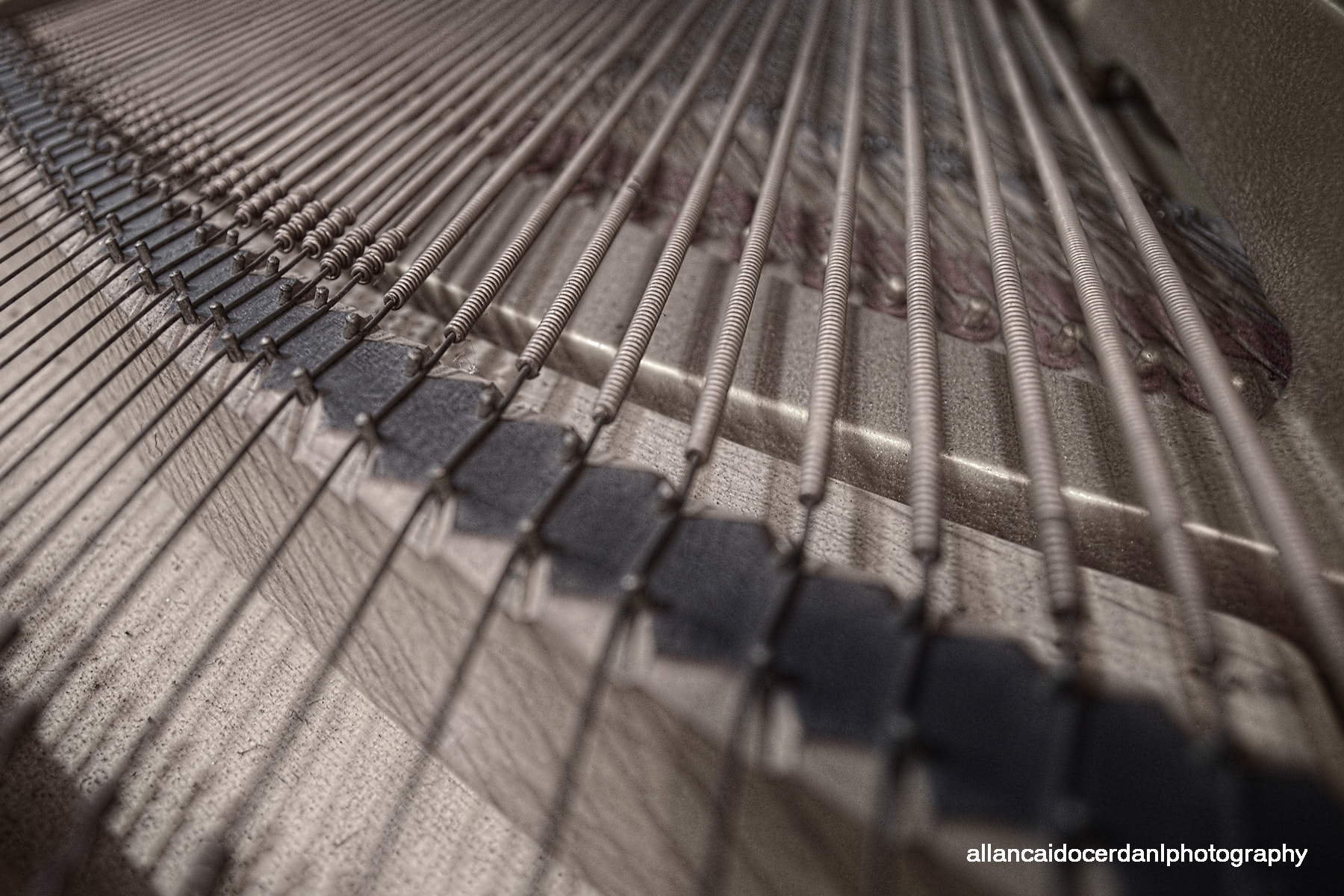 Photograph The Piano by Allan Cerdan on 500px