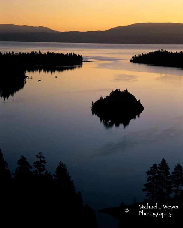 Photograph Emerald Bay Sunrise by Michael Wewer on 500px